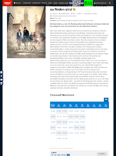 CINEPLEX Kinoprogramm- screenshot thumbnail