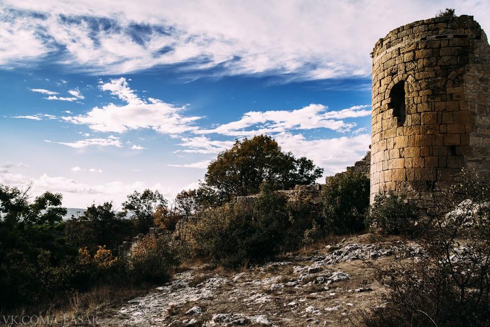 Башня, часть Сюйреньской крепости, Крым