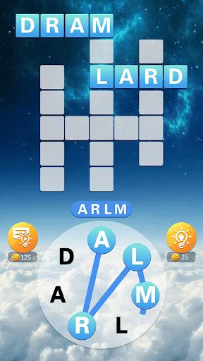 Words Sky - Brain Train Casual Game for Free screenshots 2