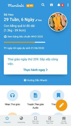 Mamibabi - Thai giáo và Yoga bầu  screenshots 1