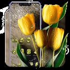 Beautiful Yellow Tulip Theme icon