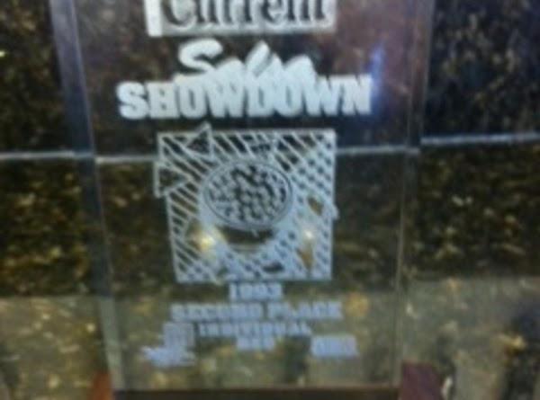 Salsa - Award Winning Recipe