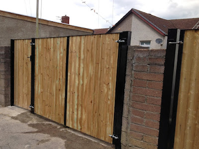 3 Wooden Gates - Double and Single