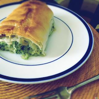 Cabbage Strudel.