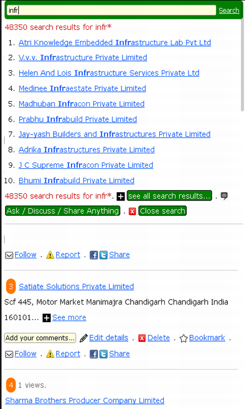 Company List India Android Apps On Google Play