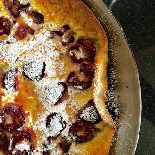 Cherry Puffy Pancake Recipe