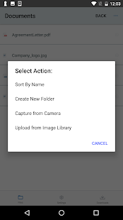 MyWorkDrive File Access- screenshot thumbnail