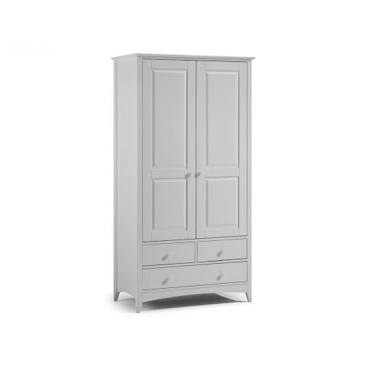 Julian Bowen Cameo Dove Grey Bedroom Furniture