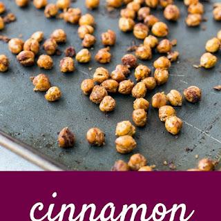 Cinnamon Roasted Chickpeas.