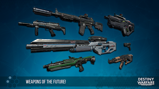 Destiny Warfare: Sci-Fi FPS 1.1.5 screenshots 18