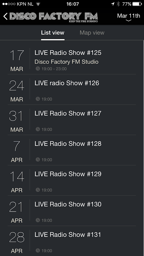 Disco Factory FM- screenshot