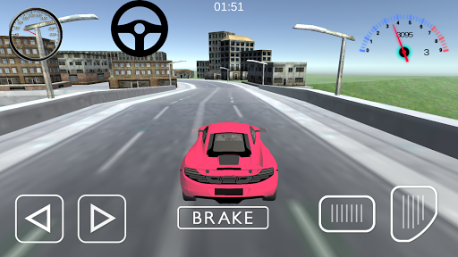 Sports Car Drift Simulator