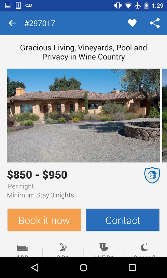 HomeAway VRBO Vacation Rentals- screenshot