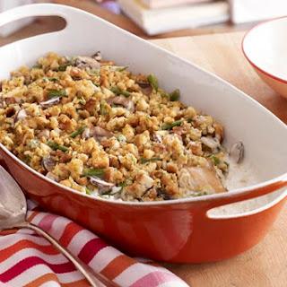 Make-Ahead Chicken & Green Bean Casserole.