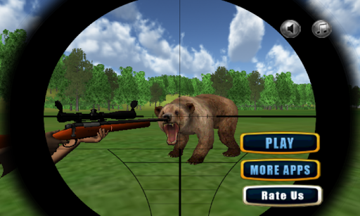 Jungle Bear Sniper Hunt 2015