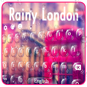 Rainy London United Kingdom