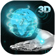 App Transparent Earth 3D Theme APK for Windows Phone