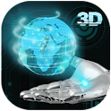 Прозрачный Earth 3D Theme icon