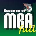 Essence of MBA degree icon