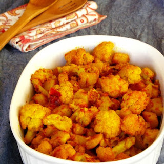 Gobi Tamatar/Cauliflower with Tomatoes