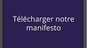 Télécharger notre manifesto