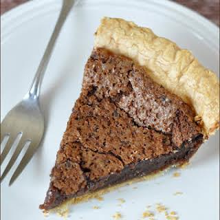 Easy Chocolate Pie.
