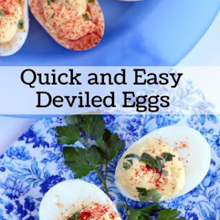 Quick and Easy Deviled Eggs, This Recipe is the Best