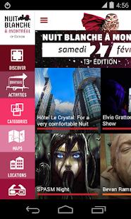 2016 Nuit blanche à Montréal Screenshot 1