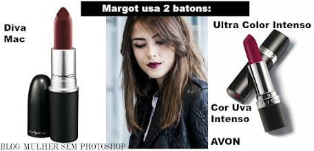 Batom Vinho de Margot - I Love Paraisópolis