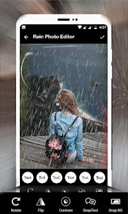 Rain Photo Frame: Rain Photography Screenshot
