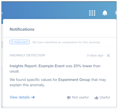 Anomaly Detection – Mixpanel Help Center