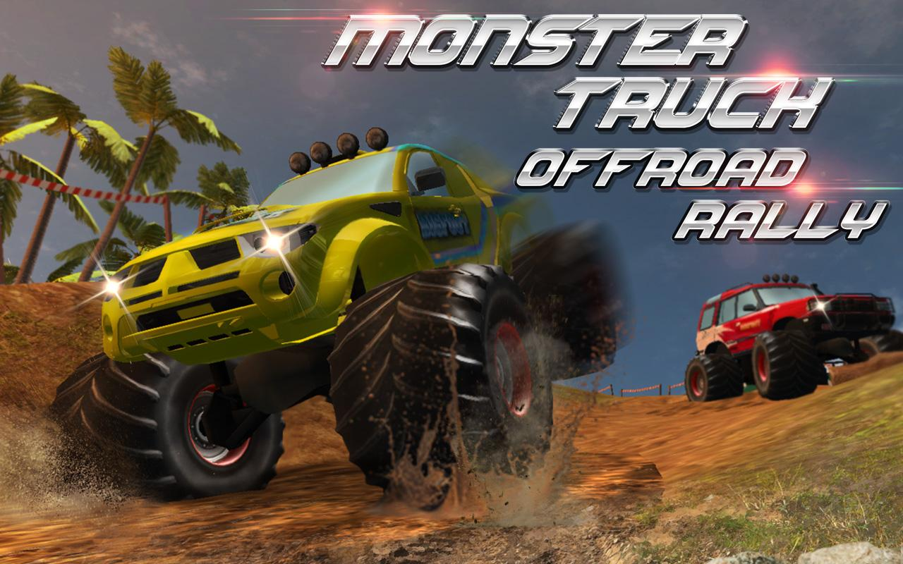 monster truck offroad rally 3d android apps on google play