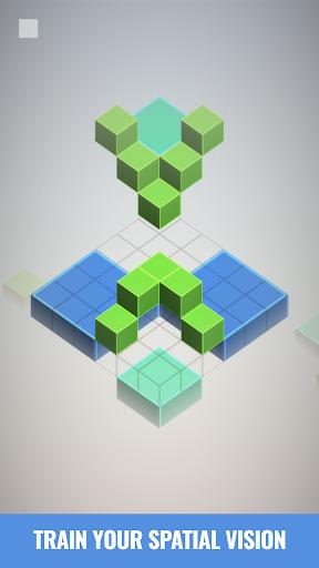 Isometric Squares - puzzle u00b2  screenshots 2