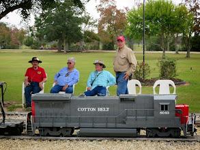 Photo: David James, Gary Brothers, Ed  Rains, and Bob Barnett       2013-1116 RPW