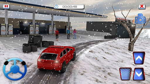 Snow Hill Offroad 4x4 Truck 3D