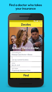 Zocdoc: Find & book a doctor Screenshot 1
