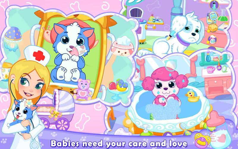 Скриншот My Newborn Pet Baby