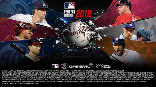 MLB Perfect Inning 2019 fond d'écran 1