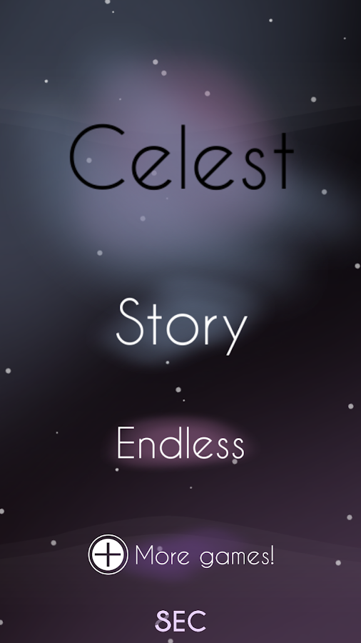 Celest- screenshot