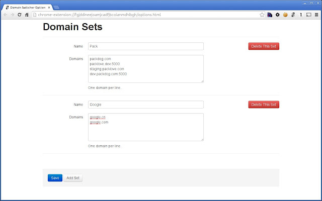 Domain Swap