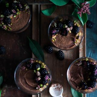 Chocolate Mousse {dairy free, vegan, refined sugar free}.