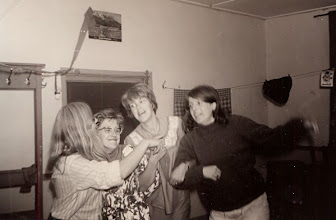 Photo: De leiding v.l.n.r. Janna Kleef, Giny Lanjouw, Hilje Schuiling en Hennie Lanjouw