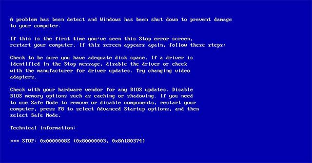 Khắc phục ngay laptop lỗi màn hình xanh với vài thủ thuật đơn giản sau