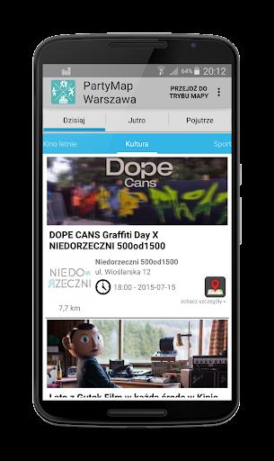 玩免費遊戲APP|下載imprezy i koncerty - PartyMap app不用錢|硬是要APP