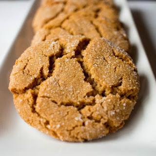 Molasses & Ginger Cookies
