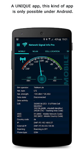 Network Signal Info Pro  screenshots 1