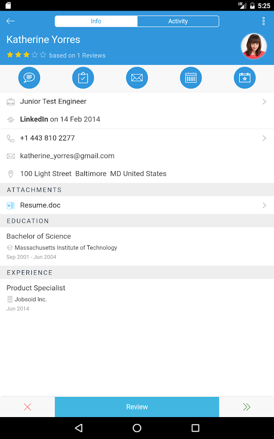 Jobsoid Recruiter- screenshot