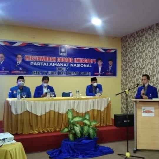 Rudi Hariyansyah : Mintak Kader nya Fokus Bantu Masyarakat