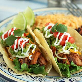 Slow Cooker Pork for Tacos.