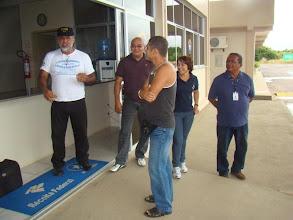 Photo: Na aduana do Brasil, declrando equipamentos, pessoal gente boa, não houve nenhuma dificuldade
